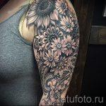 тату рукав мандала - фото пример готовой татуировки от 01052016 2