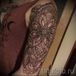 тату рукав мандала - фото пример готовой татуировки от 01052016 20