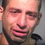 тату слеза под глазом - пример на фото от 22052016 6