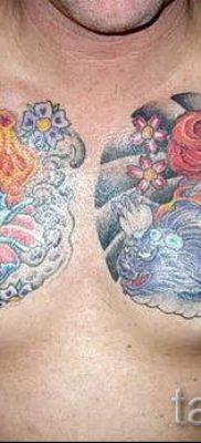 тату японский пион значение – фото пример татуировки от 15052016 8