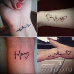 у пульс на руке фото - пример готовой татуировки 3