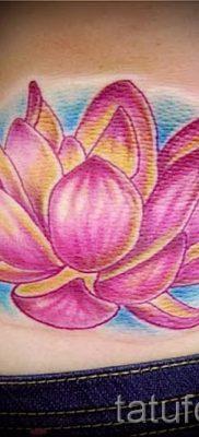 цветок лотоса тату значение – фото пример 3