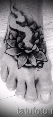 цветок лотоса тату значение – фото пример 5