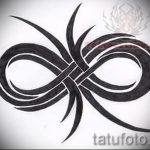 эскизы тату бесконечность - вариант рисунка для татуировки от 09052016 8096 tatufoto_ru