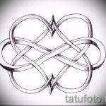 эскизы тату бесконечность на запястье - вариант рисунка для татуировки от 09052016 4102 tatufoto_ru