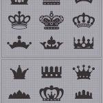 эскиз тату корона на шее - рисунок для татуировки от 15052016 1