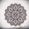 мандала тату эскизы мужские - рисунок для татуировки от 02052016 4