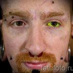 тату на глазах как делают - пример на фото от 22052016 3