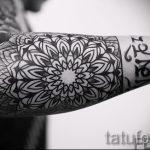 Hülse Mandala Tattoo - Foto Beispiel des fertigen Tätowierung auf 01052016 1