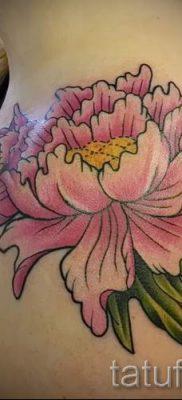 Japanische Tattoo-Pfingstrose Wert – Foto Beispiel der Tätowierung 15052016 2
