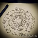 Mandala-Designs auf dem Rücken Tattoo - Tattoo-Zeichnung auf 02052016 1