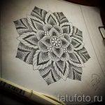 Mandala-Designs auf dem Rücken Tattoo - Tattoo-Zeichnung auf 02052016 2