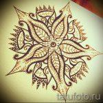 Mandala-Designs auf dem Rücken Tattoo - Tattoo-Zeichnung auf 02052016 4