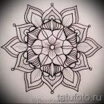 Mandala-Designs auf dem Rücken Tattoo - Tattoo-Zeichnung auf 02052016 8