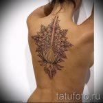 Mandala Lotus Tattoo - Foto Beispiel des fertigen Tätowierung auf 01052016 2