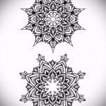 Mandala Tattoo-Designs auf dem Handgelenk - Zeichnung Tätowierung auf 02052016 2