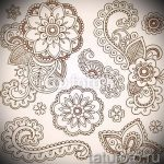 Mandala Tattoo-Designs auf dem Handgelenk - Zeichnung Tätowierung auf 02052016 4