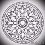 Mandala Tattoo-Designs für Männer - Bild Tätowierung auf 02052016 1