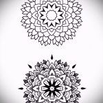 Mandala Tattoo-Designs für Männer - Bild Tätowierung auf 02052016 2