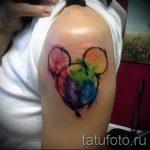 Mickey Mouse Tattoo böse - fertig Tätowierung auf 16052016 1