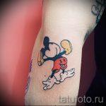 Mickey Mouse tatouage mal - tatouage fini sur 16052016 1