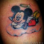 Mickey Mouse tattoo angel 2