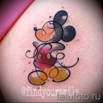 Mickey Mouse tattoo on her wrist - finished tattoo on 16052016 1