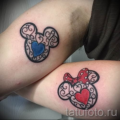 Mickey Mouse tattoo on the hand - finished tattoo on 16052016 2