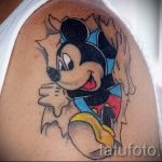 Mickey Mouse tattoos for girls 2