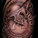 Roman armor tattoo 1