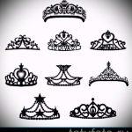 Skizze einer Tätowierung am Handgelenk Krone - Zeichnung Tätowierung auf 15052016 1
