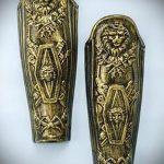 Tätowierung auf seinem Unterarm Rüstung - ein Beispiel für die fertigen Tätowierung 16052016 1