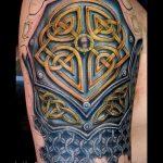 Tattoo-rüstung - ein Beispiel für die fertigen Tätowierung 16052016 1