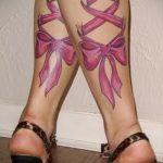 arcs tatouage sur ses pieds derrière la photo - exemple photo du tatouage fini 02052016 2