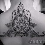 beautiful mandala tattoo - Photo example of the finished tattoo on 01052016 2