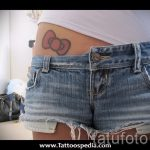 bows on the hips tattoo - Photo example of the finished tattoo 02052016 2