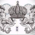 croquis de la couronne de tatouage pour les filles - dessin tatouage sur 15052016 2