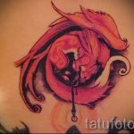fire fox tattoo - cool tattoo photo on 03052016 1
