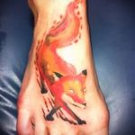 fire fox tattoo - frais photo de tatouage sur 03052016 1