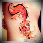 fire fox tattoo - frais photo de tatouage sur 03052016 2