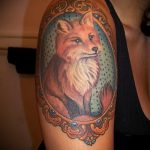 fox tattoo for girls - a cool tattoo photo on 03052016 2