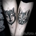 fox tattoo on his forearm - a cool tattoo photo on 03052016 2