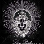 lion avec croquis couronne de tatouage - dessin tatouage sur 15052016 1