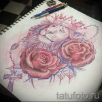 lion with crown tattoo sketch - drawing tattoo on 15052016 1