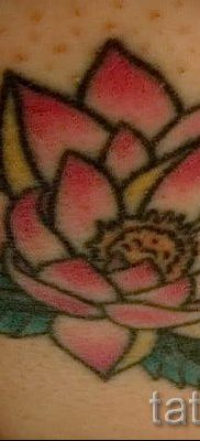 lotus flower tattoo value 1