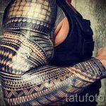 manchon tatouage armure - un exemple du tatouage fini 16052016 1