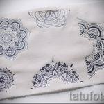 mandala conçoit tatouage sur son dos - dessin tatouage sur 02052016 1