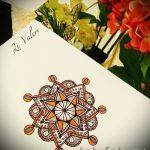 mandala conceptions de tatouage en couleur - dessin tatouage sur 02052016 1