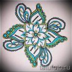 mandala conceptions de tatouage en couleur - dessin tatouage sur 02052016 2