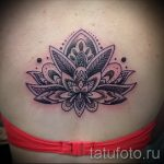 mandala lotus tattoo - Photo example of the finished tattoo on 01052016 1